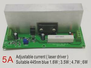 445nm 450nm Blue Laser Diode Driver Fit 1w 6w Adjustable 5a With Ttl