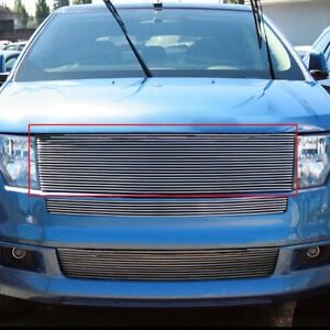 For Ford Edge 07 10 Apg Gr06hea51a 1 Pc Polished Horizontal Billet Main Grille