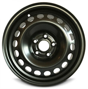 Steel Wheel Rim 15 Inch 12 16 Chevy Sonic 5 Lug 105mm 15x6 Opt Rrl Black New