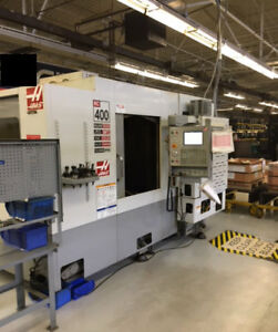 Haas Horizontal Cnc Mill Ec 400 4ax For Sale