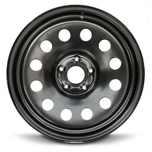 Steel Wheel Rim 20 Inch 02 08 Dodge Ram 1500 Pickup Truck Black Full Size 5 Lug