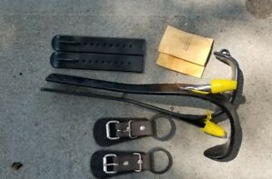 Buckingham Tree Pole Climbing Spikes F9747 L r Set Of Spacers Straps Included