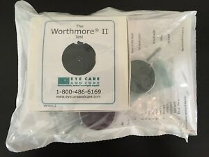 New The Worthmore Ii Test Optometry Four Dot Test Eye Care And Cure