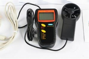 Air Temperature Measurement Rs 232c Interface With Pc Prova Avm 305 Anemometer