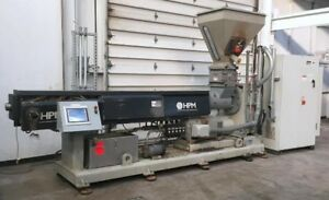2006 4 5 Hpm Extruder With Gala 6 Pelletizing Line