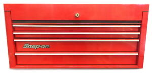 Snap On 4 Drawer Hertiage Series Top Chest Kra4114a Local Pick Up Only