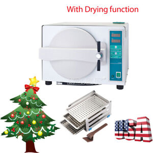 18l Dental Autoclave Steam Sterilizer Dry Heat Sterilizer With Drying Function