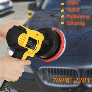 Adjustable Speed 700w 220v Car Polisher Buffer Waxing Machine Polishing Waxer