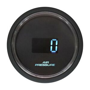 52 Mm Suspension Electrical Air Pressure Gauge Digital Red Blue Led Display Bar