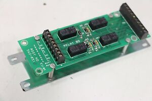 Simplex Grinnell 562 851 Rev D 4002 4 Relay Board
