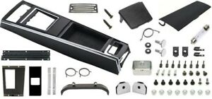 1967 Camaro Console Kit W Manual Trans With Gauges Unassembled