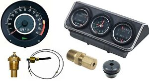 1967 Camaro Dash Tach Console Gauge Package Kit W 6 7 Tach