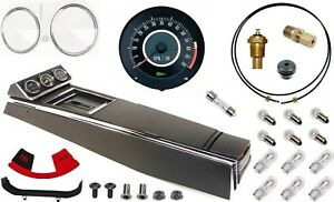 67 Camaro Tach Console W gauges Conversion Kit W t 400 120 Mph 6 7k Tach