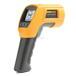 Brand New High Temperature Fluke 572 2 Infrared Thermometer Aw