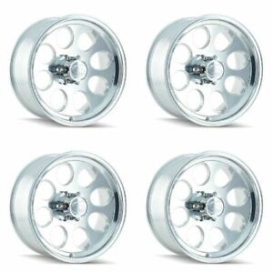 Set 4 18 Ion 171 Polished Wheels 18x9 6x5 5 0mm Lifted Chevy Gmc Cadillac 6 Lug