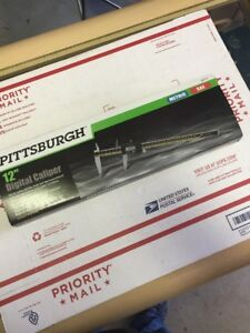 Brand New Pittsburgh 12 Inch Digital Caliper 63713