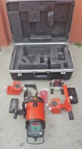Agl Gradelight 2700 Pipe Laser Red Beam Package