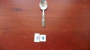 Rogers First Love Baby Infant Spoon Silver Plate International