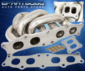 For 91 95 Toyota Mr2 Ct25 Ct26 Stainless Racing Exhaust Turbo Manifold Assembly