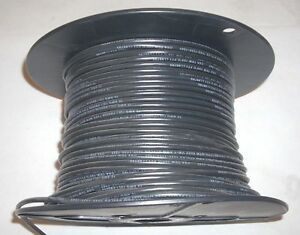 10 Gauge Awg Stranded Black Copper Electrical Appliance Wire Mtw tew 20 9 Lbs