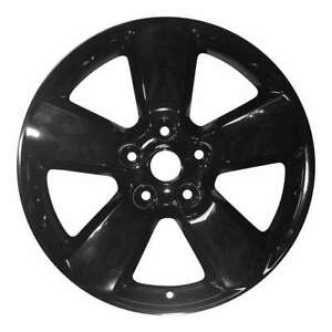 Dodge Ram 1500 2013 2014 2015 2016 20 Factory Oem Wheel Rim Black 1ub17trmab
