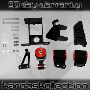 Performance Motor Mounts Kit For 2006 2011 Civic Si Acura Csx With Hardware