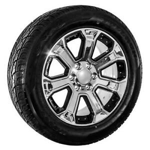 22 Chrome Chevy Truck Silverado Tahoe Wheels Rims And Tires