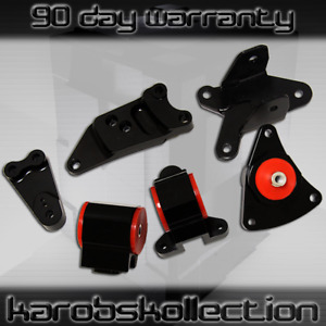 Performance Motor Mounts Kit For 2002 2006 Acura Rsx Honda Civic Si W Hardware