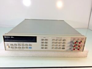Hp Agilent 3458a 8 1 2 Digit Digital Multimeter W Opt 002 Tested