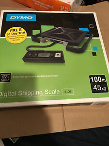 Digital Postal Scale 100lb Shipping Packaging Dymo S100 Free Shipping