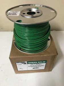 500 Ft Green Solid 10 Ground Wire