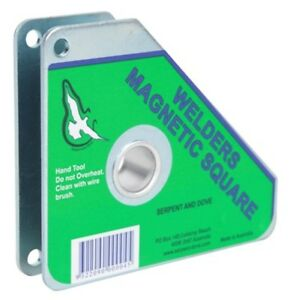 Magnetic Square For Holding 90 And 45 Degree Angles When Welding 6 msq