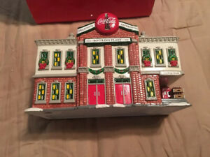 DEPT 56 Snow Village Coca'Cola Bottling Plant