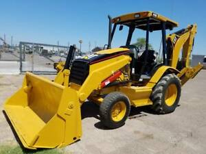 Caterpillar Backhoe 416d 2005 Cat Case Deere