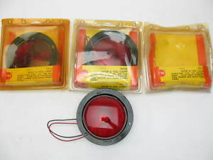 Peterson Manufacturing V413 4 Round Flush Mount Stop Turn Tail Light