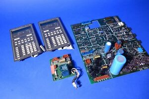 Lot Of Hp 5890 Gas Chromatograph Gc Spare Parts Main Board Power Supply Etc