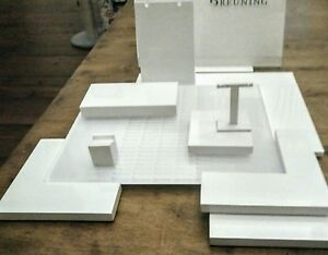 Retail Jewelry Store Displays In Glossy White Wood 37 Units