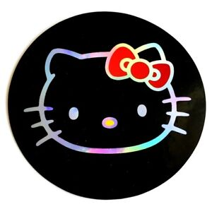 Hello Kitty 3 5 Sticker Decal Car Window 3d Reflective Laptop Bumper Tablet Cat