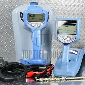 Radiodetection Rd8000 Pxl Tx5 Cable pipe Locator Underground Utility Line Tracer