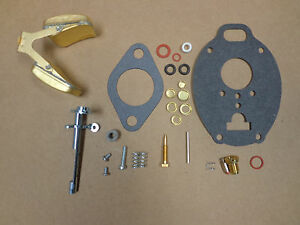 John Deere M Mt Mi Mc 40 320 330 Carburetor Carb Kit With Throttle Shaft
