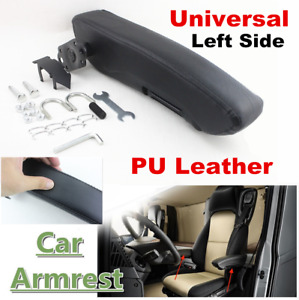Universal Adjustable Pu Leather Truck Seat Armrest Console Box Car Seat Arm Rest