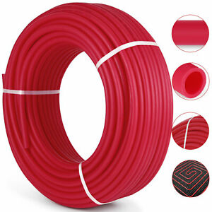 3 4 X 300 Ft Pex Tubing Pipe Oxygen Barrier evoh Radiant Floor Heating Red