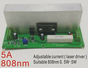High Power Laser Driver For 808nm Diode 0 5w Adjustable Current 12v With Ttl
