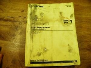 Cat Caterpillar 939c 933c Track Loader Parts Manual 6ds1 up