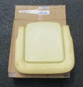 1968 Mustang Shelby New Front Bucket Seat Bottom Foam Section