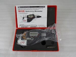 Spi 0 1 Quick action Electronic Micrometer Ip65 10 800 1