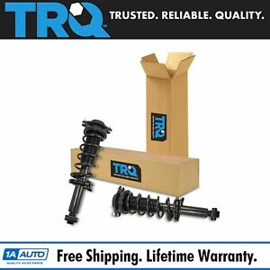 Trq Rear Complete Loaded Shock Strut Spring Assembly Pair 2pc Set For Impreza