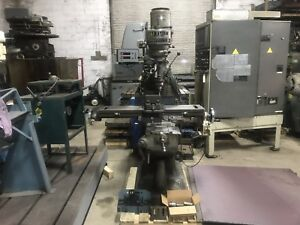 Maxmill Vertical Mill Milling Machine 9x42 Table Tooling Bridgeport