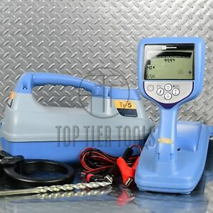 Radiodetection Rd7000 Dl Tx5 Cable pipe Locator Utility Line Tracer Cps Rd8000