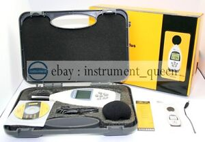 Ar844 Sound Noise Level Meter With Software usb Cable 30 130db New Ar 844